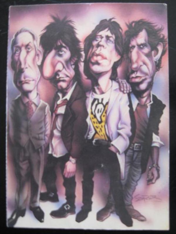 Rolling Stones - Tour 1994 - Postkarte - Niddatal - Eine seltene doppelseitige CD-Bestellpostkarte der Tour 1994 von den Rolling Stones.Diese Doppelkarte hat ein paar geringe Gebrauchsspuren.Insgesamt ist sie gut erhalten. Ich biete diese seltene doppelseitige Postkarte für nur 6 Euro (+Versand - Niddatal
