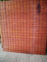Rollo Holz oder Bambus rötlicher