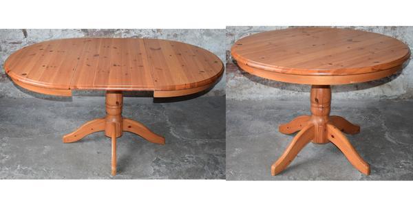 esstisch massivholz gebraucht kaufen nur 3 st bis 60. Black Bedroom Furniture Sets. Home Design Ideas