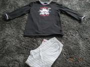 Schiesser Schlafanzug Captn Sharky Gr