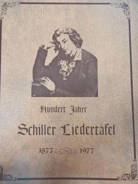 Schiller Liedertafel Chicago - Festschrift zum: Kleinanzeigen aus Waiblingen Kernstadt-Süd - Rubrik Komplette Sammlungen, Literatur