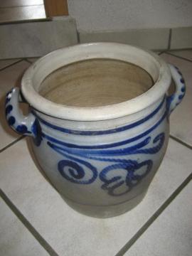 Schmalztopf Keramiktopf mit Salzglasur: Kleinanzeigen aus Birkenheide Feuerberg - Rubrik Dekoartikel