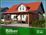 sch ne carports zum selber bauen biber carport24 in. Black Bedroom Furniture Sets. Home Design Ideas