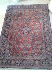 Schöner Teppich fein