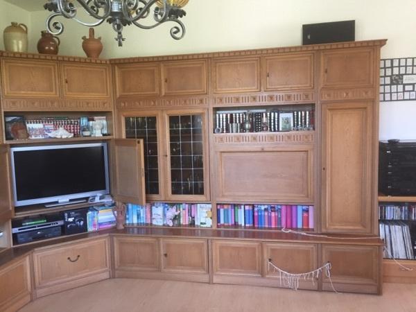 wohnzimmer eiche massiv gebraucht kaufen nur 2 st bis 65 g nstiger. Black Bedroom Furniture Sets. Home Design Ideas
