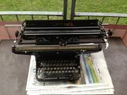 Schreibmaschine Continental antik breiter Wagen
