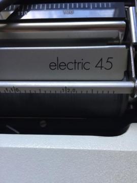 Bild 4 - Schreibmaschine Olympia Electric 45 mit - Starnberg
