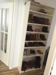 schuhregal hoch haushalt m bel gebraucht und neu. Black Bedroom Furniture Sets. Home Design Ideas