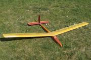 Segelflieger Modell (komplett