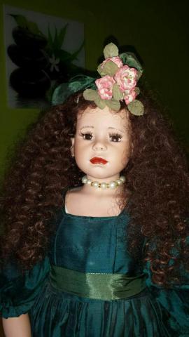Selbstgemachte Puppe aus Porzellan: Kleinanzeigen aus Ettlingen - Rubrik Puppen