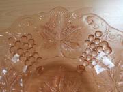 seltene antike Glas- Schale im