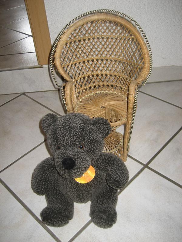 Sessel mit Bär Bärensessel Deco