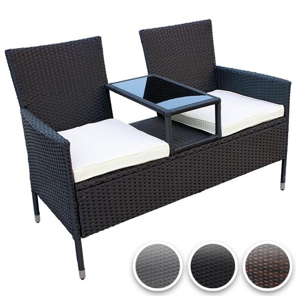 sitzbank garnitur balkon set garten liege lounge terrasse st hle stuhl tische tisch in m nchen. Black Bedroom Furniture Sets. Home Design Ideas