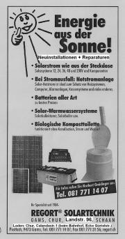 Solarset mit Schweizer