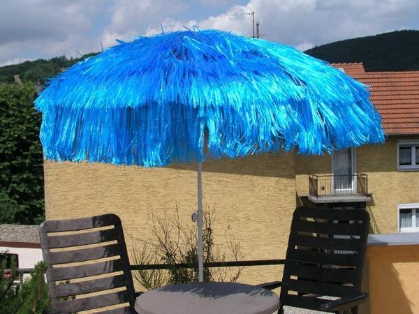 Sonnenschirm, Aktionschirm, Hawaiischirm, Messeschirm ... Sonnenschirm Balkon Terrasse