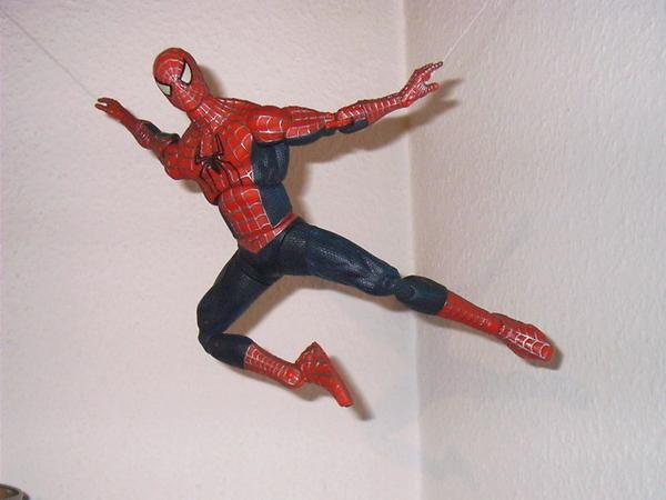 spiderman marvel figur 30 cm in schifferstadt spielzeug. Black Bedroom Furniture Sets. Home Design Ideas