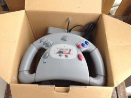 PlayStation 1 - Spielkonsole VRF1 X-Cellerator Lenkrad mit
