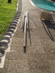 STABILER Sonnenschirm 5m -