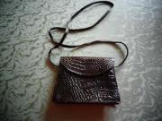 Tasche Kindertasche Damen-Handtasche schwarz klein