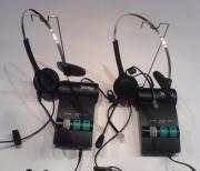 Telefon Multifunktionsverstärker + Headset (