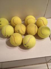 Tennisbälle gut erhalten