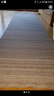 Teppich 295x82cm Schurwolle