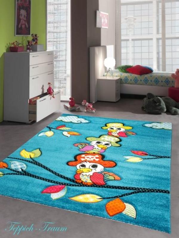 Teppich Fürs Kinderzimmer | Teppich Fur Kinderzimmer Spielteppich Mit Papagei Neu In Munchen
