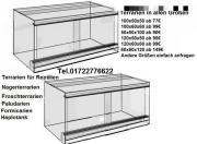 Terrarium 100x50x50cm alle Maße möglich