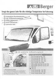 Thermomatten-Set, Volkswagen