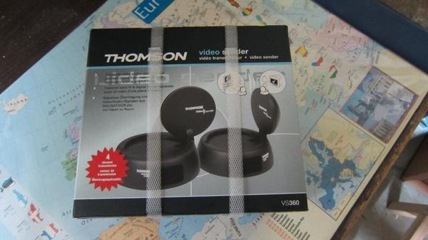 THOMSON Video Sender - Ludwigsburg - Orginal verpackter THOMSON Video Sender. Kabellose Übertragung von Video/DVD/SAT ect. von Raum zu Raum. - Ludwigsburg