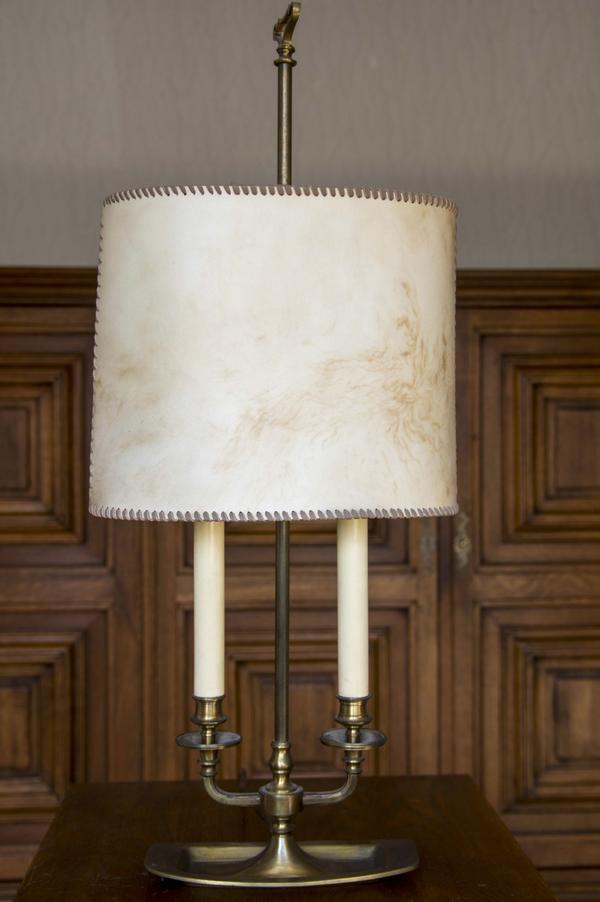 schreibtisch lampe messing gebraucht kaufen 3 st bis 65 g nstiger. Black Bedroom Furniture Sets. Home Design Ideas