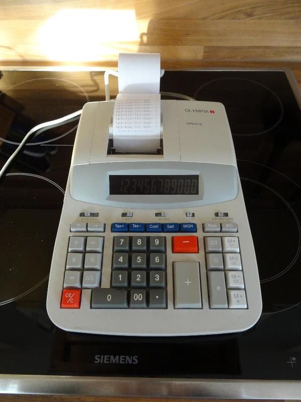 Tischrechner Rechenmaschine Olympia