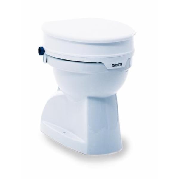 Toilettensitzerhöhung Aquatec 90 in weiß -