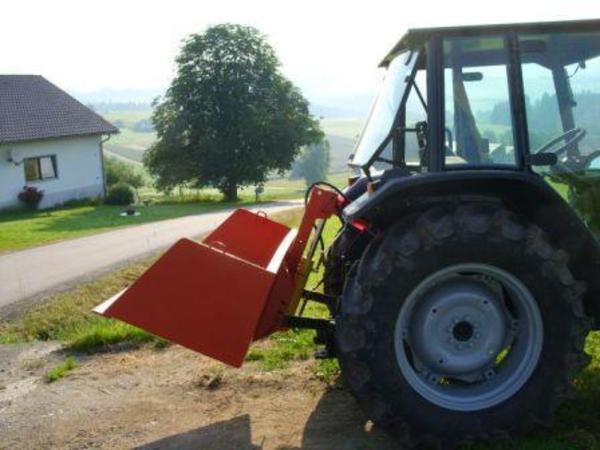traktor heckcontainer heckschaufel kippmulde schaufel in
