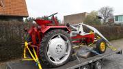Transportiere ihren Traktor