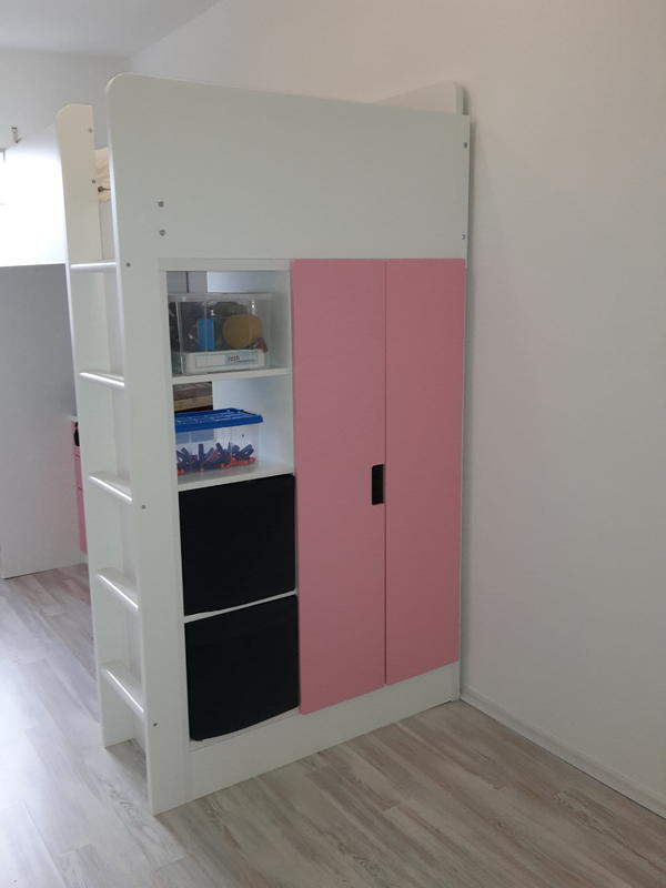 t ren in rosa aus der ikea stuva serie in schwanstetten. Black Bedroom Furniture Sets. Home Design Ideas