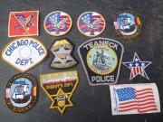 USA Police Patches zb für