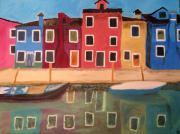 Venezia Burano - 80x60x2cm