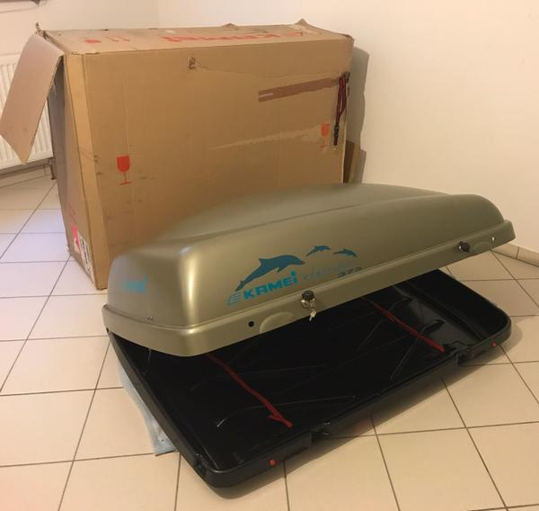 verkaufe dachkofferbox von kamei delphin 375 140cm lang. Black Bedroom Furniture Sets. Home Design Ideas