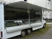 Verkaufswagen aluminium ausbau