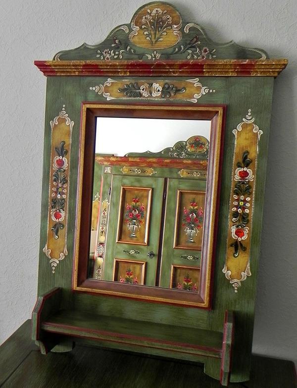 voglauer spiegel mit konsole anno 1800 altgr n massiv alm h tte alpenland m bel in n rnberg. Black Bedroom Furniture Sets. Home Design Ideas