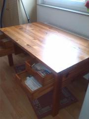 Vollholz Tisch Schreib