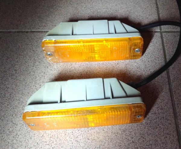 Vorne zwei Blinker für VW Polo 86c - Riedstadt - Verkaufe zwei vorne Blinker für VW Polo 86c. - Riedstadt