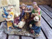 Weihnachtskrippe Figuren heiligen drei Könige