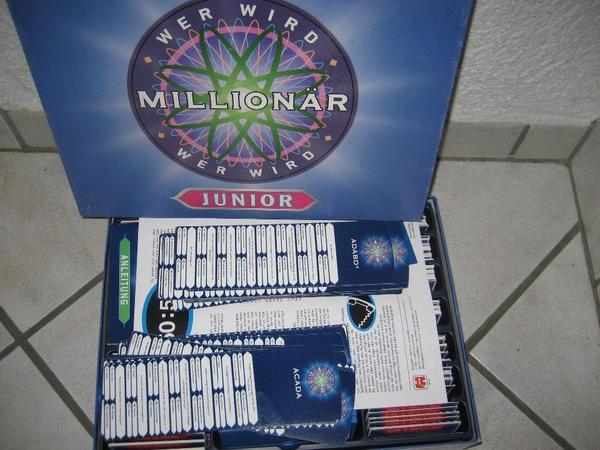 Wer wird Millionär - Junior neuwertig