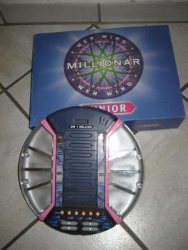 Gesellschaftsspiele - Wer wird Millionär - Junior neuwertig