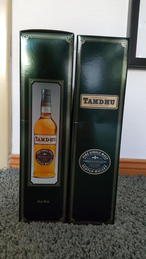 Whisky - Potsdam Babelsberg Nord - Tamdhu ohne altersangabe , verkauft seit den 80ger Jahren, im Handel nicht mehr erhältlich - Potsdam Babelsberg Nord