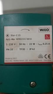 WILO Heizungspumpe Star Z15