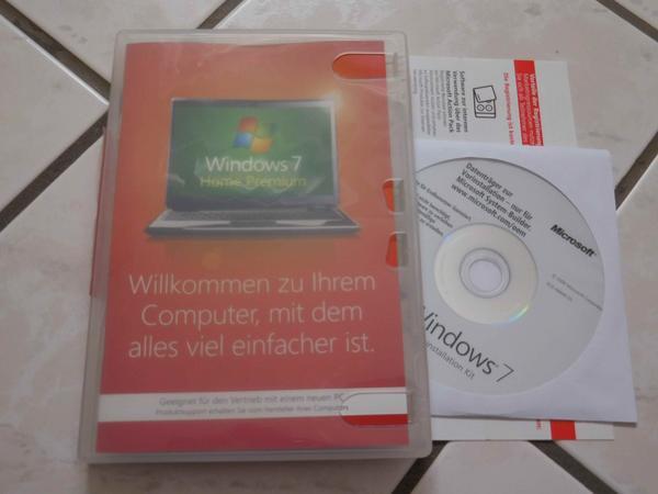 Windows 7 Home Premium 32bit (x86) OEM - Aschaffenburg - zum Verkauf steht ein Windows 7 Home Premium 32bit (x86) OEM die original DVD ist ohne SP1 jedoch gibt es eine DVD von einem veriferzierten Download von Microsoft dazu. Bitte Anrufe unter der Woche erst nach 18 Uhr.Kein Versand nur Abholun - Aschaffenburg