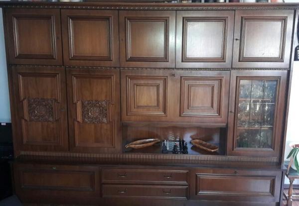 Gebraucht Wohnzimmerschrank Bzw Wohnzimmereinrichtung Kaufen 91233 Neunkirchen